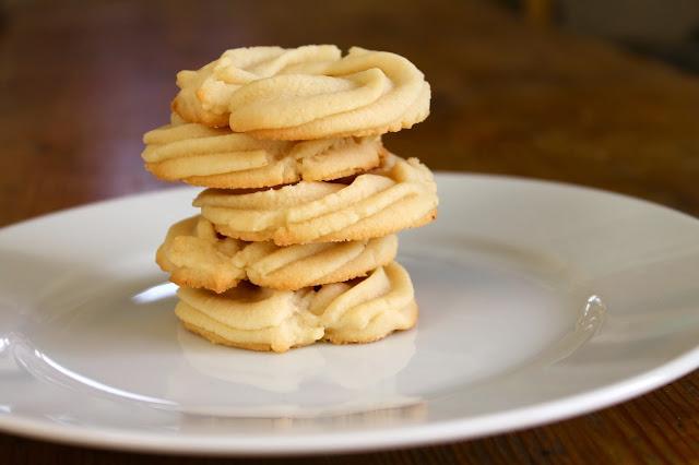 Butter Cookies: Great Food Blogger Cookie Swap
