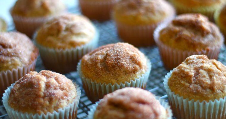 French Vanilla Chai Doughnut Muffins