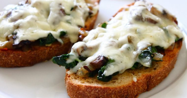 Let's Do Lunch: Mushroom Toasts