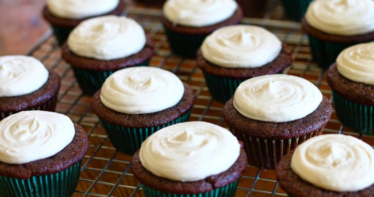 Guinness and Bailey's Cupcakes