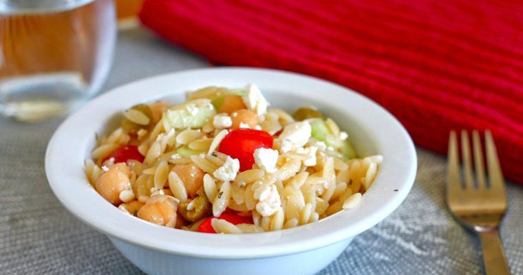 Let's do Lunch: Mediterranean Pasta Salad