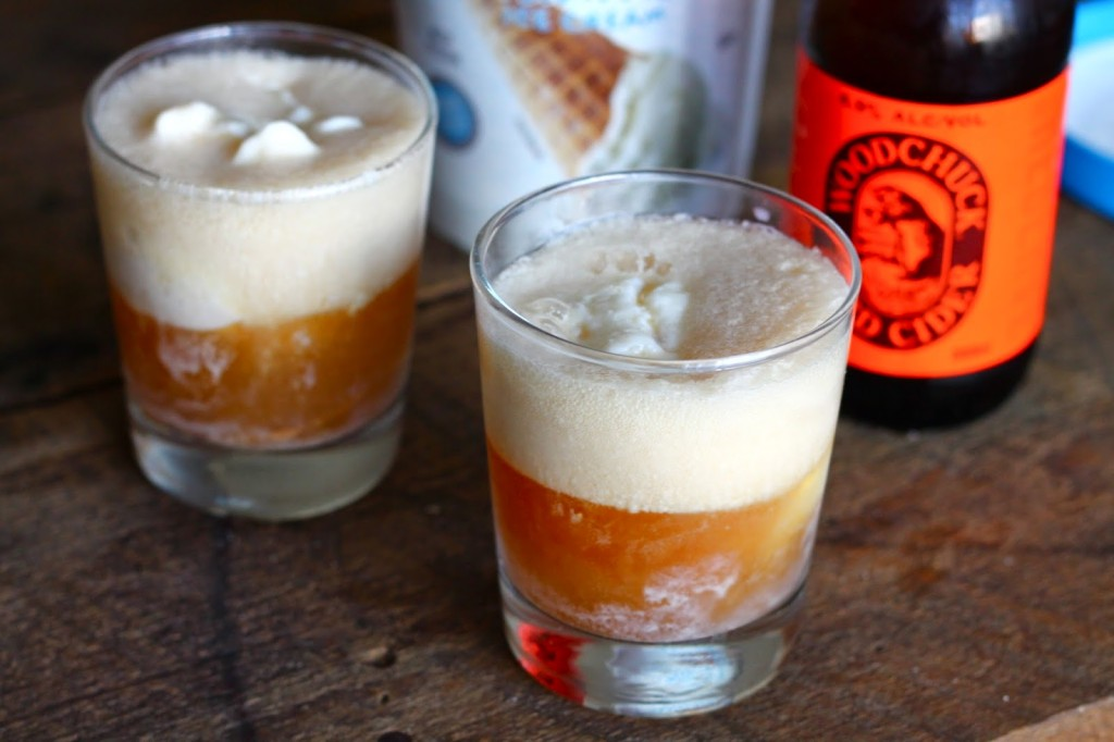 pumpkin cider floats | confectionarytales.blogspot.com
