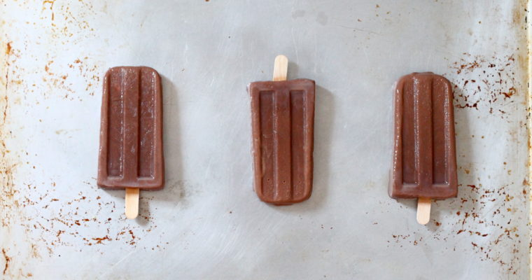 Homemade Fudgsicles
