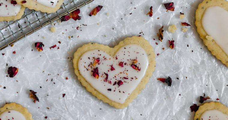Cardamom Rose Sugar Cookies