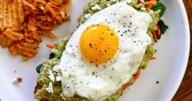 Let's Do Lunch: Smashed Chickpea & Avocado Toast