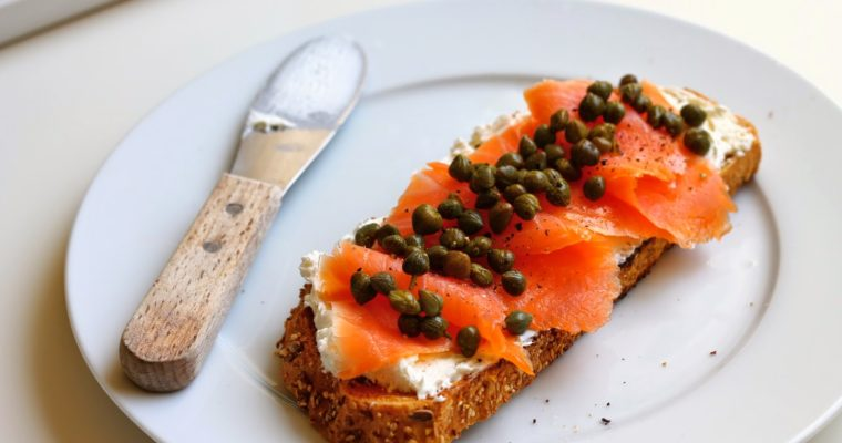 Let's Do Lunch: Smoked Salmon Toasts