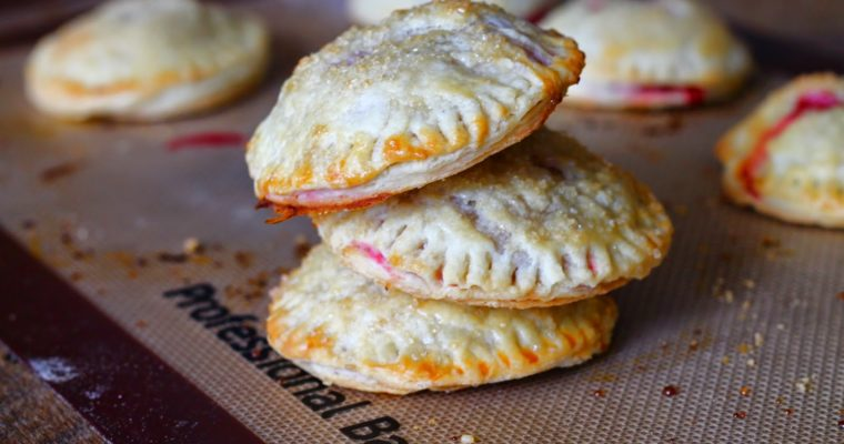Mini Raspberry Hand Pies