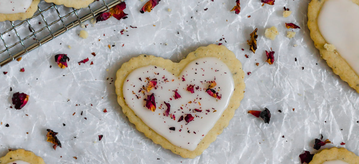 Cardamom Rose Sugar Cookies